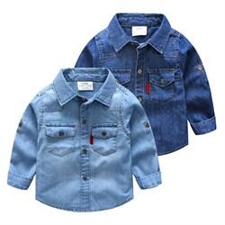 Джинсовая рубашка BabyKids Element 9270