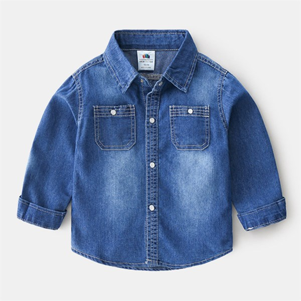 Джинсовая рубашка  BabyKids Element a667 - фото 61135