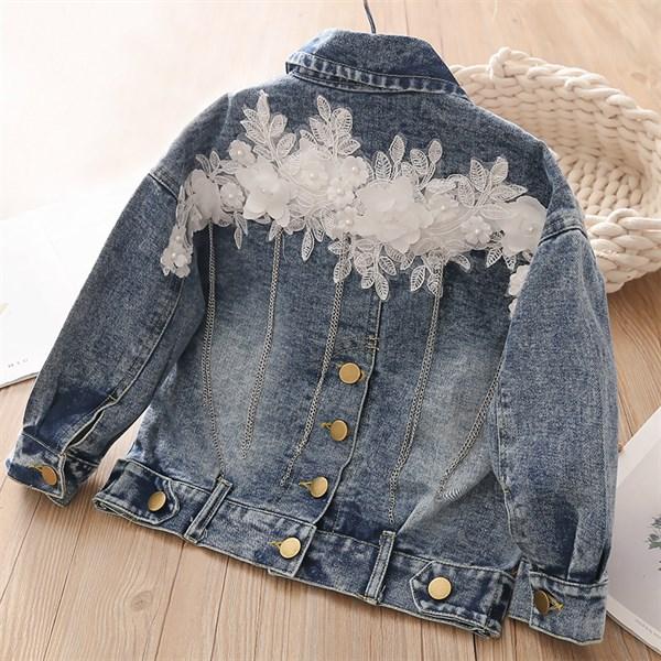 Джинсовая куртка BabyKids Element a049 - фото 71647