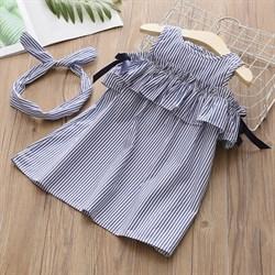 Платье с повязкой BabyKids Element 4660
