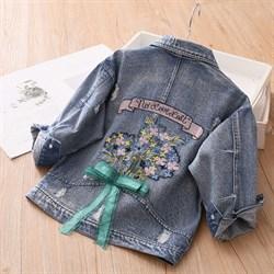 Джинсовая куртка BabyKids Element 9611