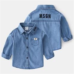 Джинсовая рубашка BabyKids Element a670