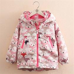"Куртка на флисе ""Белая лиса"" BabyKids Element 9368"