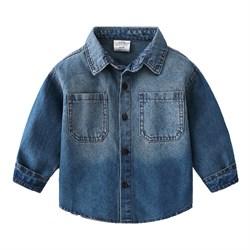Джинсовая рубашка  BabyKids Element b220