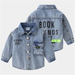 Джинсовая рубашка BabyKids Element b187