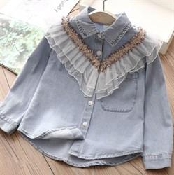 Джинсовая рубашка BabyKids Element b283