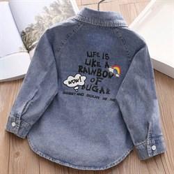 Джинсовая рубашка BabyKids Element b613