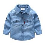 Джинсовая рубашка BabyKids Element 9270 - фото 12674