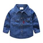 Джинсовая рубашка BabyKids Element 9270 - фото 12675