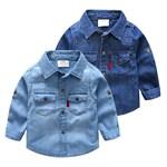 Джинсовая рубашка BabyKids Element 9270 - фото 12676