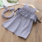 Платье с повязкой BabyKids Element 4660 - фото 24899