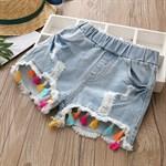 Джинсовые шорты BabyKids Element kz-b180 - фото 51876