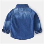 Джинсовая рубашка  BabyKids Element a667 - фото 61136