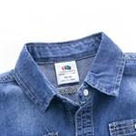 Джинсовая рубашка  BabyKids Element a667 - фото 61137