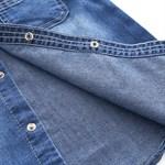 Джинсовая рубашка  BabyKids Element a667 - фото 61138