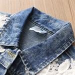 Джинсовая куртка BabyKids Element a049 - фото 71641
